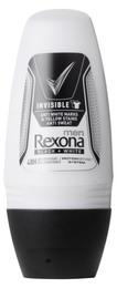 Rexona Men Deo Roll-on Invisible Black+ White 50 m