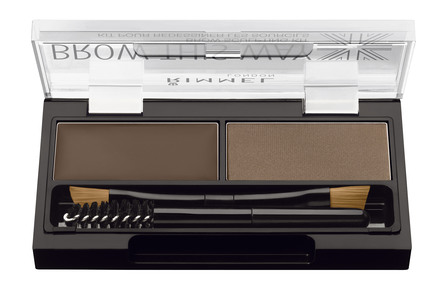 Rimmel Brow This Way Kit 002 Mid Brown