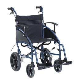 Dietz Transportkørestol med hjælpebremse