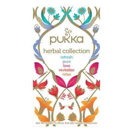 Herbal collection te Ø sampak Refresh, Pure, Lov