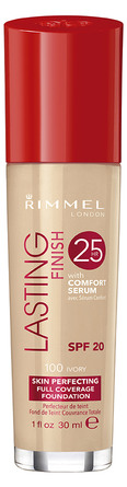 Rimmel Lasting Finish 25H Foundation 100 Ivory