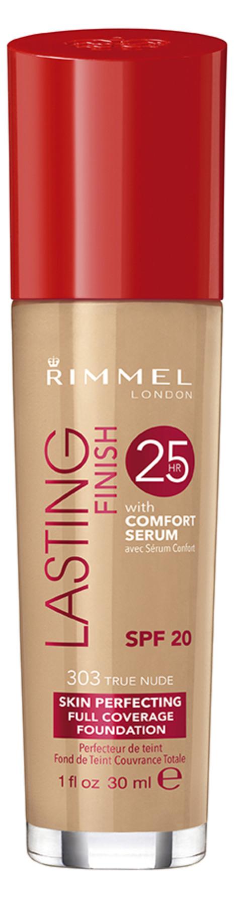 Rimmel Lasting Finish 25hr Foundation True Beige 30ml