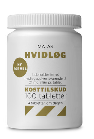 Matas Striber Hvidløg 100 tabl.