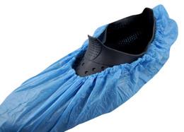 Skoovertræk blå 10 stk
