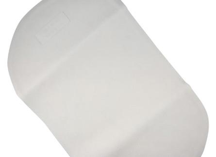 Nygaard Babybademåtte hvid 25x41 cm