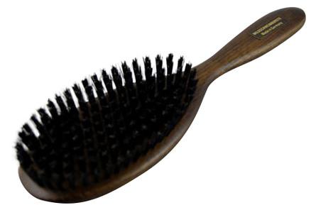 hårbørste med svinehår