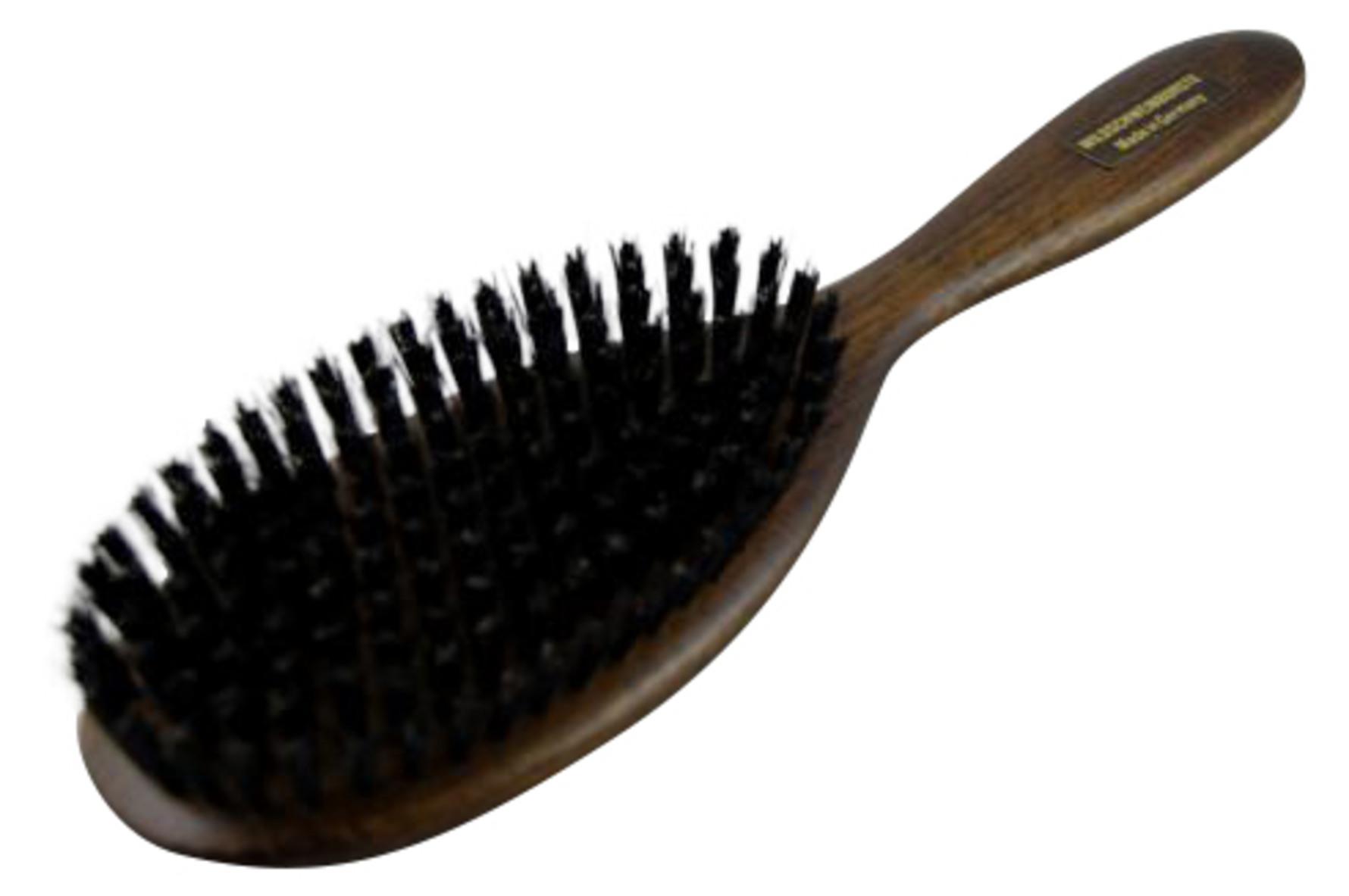 svinehårsbørste til hår