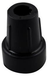 Dupsko skridhæmmende sort stor/20mm