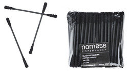 Nomess Black cotton buds