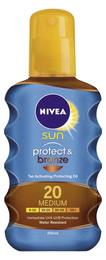 Nivea Sun Protect & Bronze Oil SPF 20  200 ml