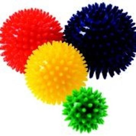 Enklere Liv Massagebold Blå 10 cm
