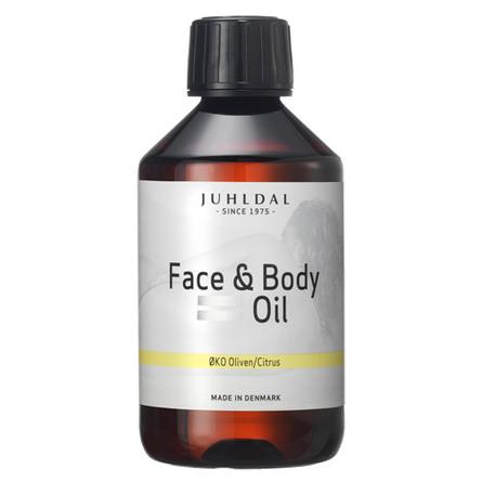 Juhldal Face & body Oil ØKO Oliven/Citrus 250 ml
