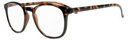 Prestige P4 Demi Brown læsebrille, styrke +2,0