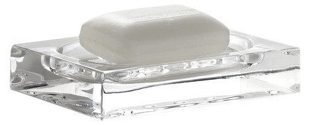 Nomess Clear soap dish