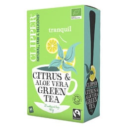 Grøn te m. Aloe Vera Ø Clipper