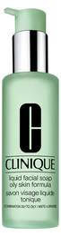 Clinique Liquid Facial Soap Oily Skin, 200 ml.