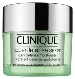 Clinique Superdefense SPF 20 Skin Type 1+2, 50 ml.