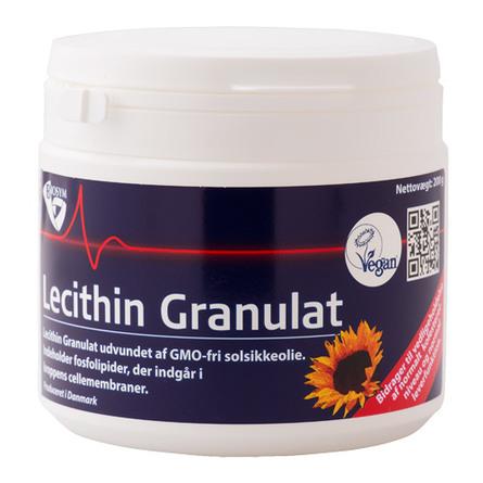 Biosym Lecithin Granulat  fra solsikkeolie 200 g