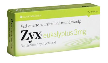 Zyx Eukalyptus 3 mg