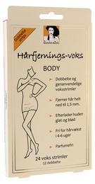 Hanne Bang Hårfjernings-voks BODY, 24 strimler