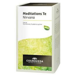 Meditations te Ø Med grøn the, ingefær, kanel og