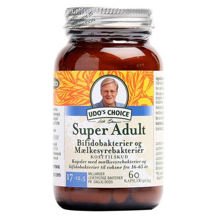 Udo's Choice Super-Adult 16-65 år 60 kaps