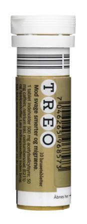 Treo Classic 500 mg brusetabletter 10 stk