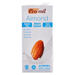 Mandeldrik m. calcium Ecomil Ø u. sukker 1 l