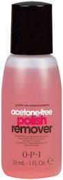 OPI Acetone free polish remover al441 30 ML