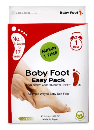 Baby Foot Bløde fødder på 1 time