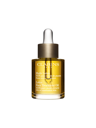 Clarins Face Treatment Oil Lotus, 30 Ml