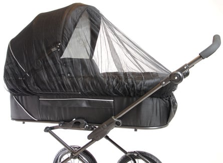 Basson Baby Myggenet Sort