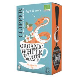 Hvid te m. appelsin Ø Clipper
