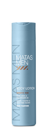 Matas Striber Men Body Lotion til Sensitiv Hud Uden Parfume 250 ml
