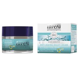 Lavera Natcreme Q10 Anti-Age 50 ml Øko