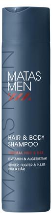 Matas Striber Men Hair & Body Shampoo til Normal hud 250 ml
