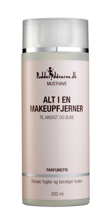 Pudderdåserne Alt i en Make-up Fjerner 200 ml