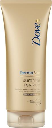 Dove DermaSpa Summer Revived Fair Bodylotion 200 ml