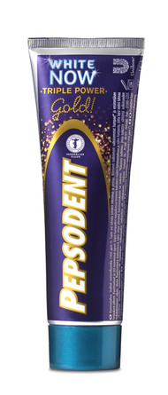 03c004d2c22a Pepsodent White Now Gold Tandpasta 75 ml.