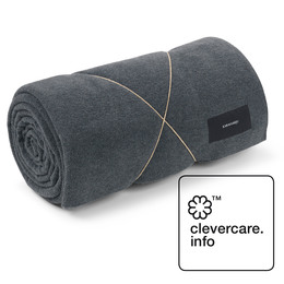 KARMAMEJU fleece tæppe, 140 x 250 cm