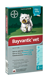 Bayvantic vet. til hunde 4 - 10 kg