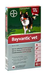 Bayvantic vet. til hunde 10-25 kg