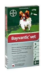 Bayvantic vet. til hunde op til 4 kg