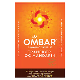 Mandarin og Tranebær Ombar Ø 35 g