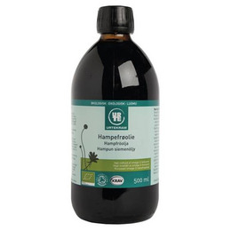 Hampefrøolie Ø koldpresset 500 ml