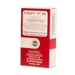 Utilin S D6 stikpiller (rød)