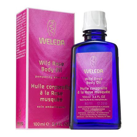 Body Oil Wild Rose Weleda 100 ml