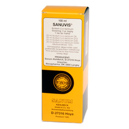 Sanuvis (L+mælkesyre) 100 ml
