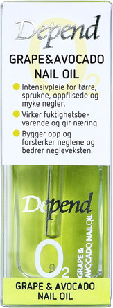 Depend O2 Grape & Avocado Nail oil