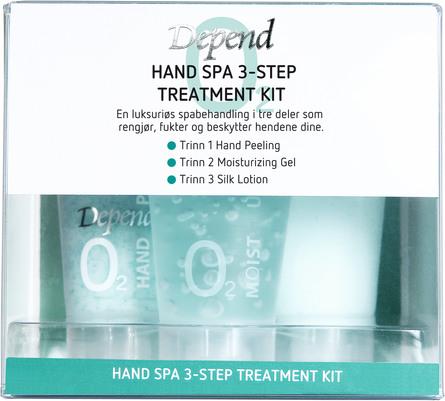 Depend O2 Hand Spa Start Kit